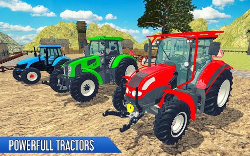 بازی اندروید تراکتور خرمن کوب - بازی کشاورزی - Tractor Thresher Games 3D: Farming Games