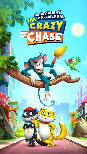 بازی اندروید بانی هانی جولما - تعقیب دیوانه - Honey Bunny Ka Jholmaal - The Crazy Chase