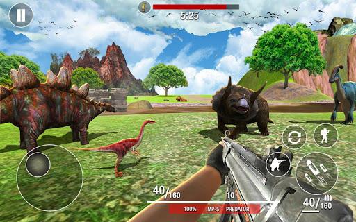 بازی اندروید شکارچی دایناسورهای وحشی - Dinosaurs Hunter Wild Jungle Animals Safari