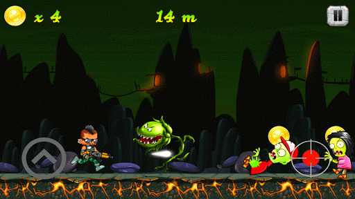 بازی اندروید حمله زامبی - Zombie Attack