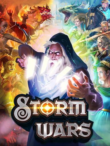 بازی اندروید طوفان جنگ - Storm Wars CCG