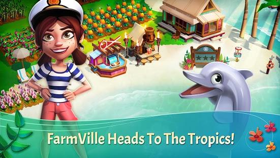 بازی اندروید فارم ویل - فرار از استوا - FarmVille: Tropic Escape
