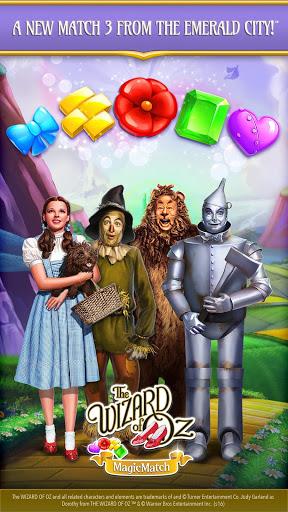 بازی اندروید تطابق جادویی -  The Wizard of Oz Magic Match 3