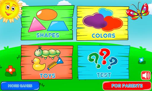 بازی اندروید رنگ شکل برای کودکان - Colors and Shapes for Toddlers