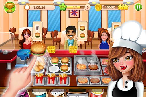 بازی اندروید استعداد آشپزی - تب رستوران - Cooking Talent - Restaurant fever