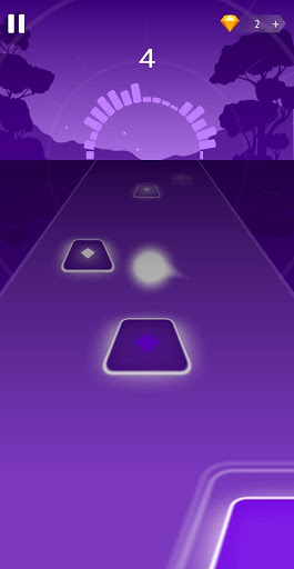 بازی اندروید رقص پرواز - حمله توپ سفالی - Dancing HOP: Tiles Ball EDM Rush