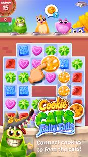 بازی اندروید شیرینی گربه - Cookie Cats
