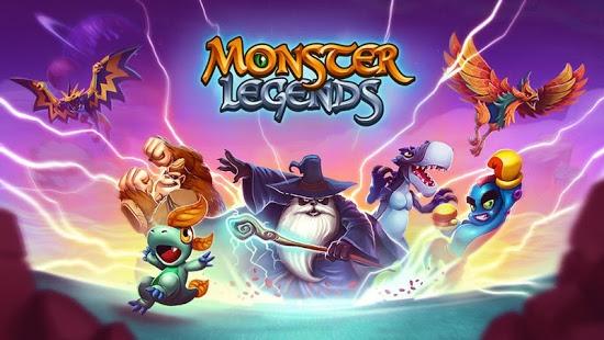 بازی اندروید افسانه هیولا - Monster Legends