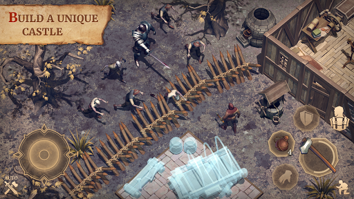 بازی اندروید گریم روح - فانتزی تاریک بقا - Grim Soul: Dark Fantasy Survival