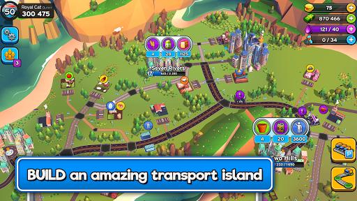 بازی اندروید عبور پادشاه سرمایه دار -امپراتور حمل و نقل - Transit King Tycoon  – Transport Empire Builder