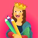 بازی استاد نقاشی - یک شاهکار را سفارشی کنید