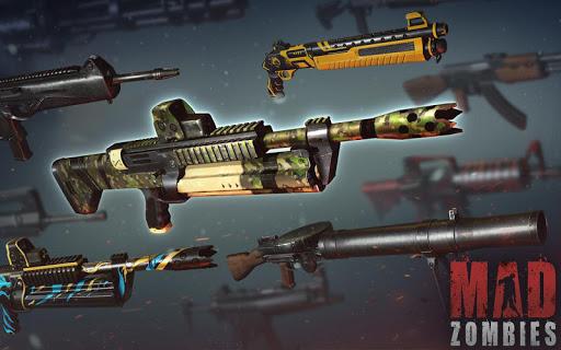 بازی اندروید زامبی دیوانه - MAD ZOMBIES : Offline Zombie Games