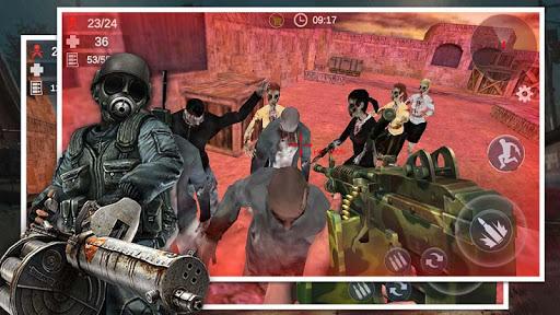 بازی اندروید مرز تفنگ - تیرانداز بقا زامبی - Gun Frontier: Free Zombie Survival Shooter 3D FPS