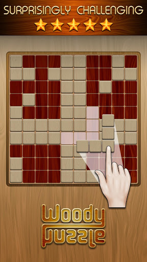 بازی اندروید پازل وودی - Woody Puzzle