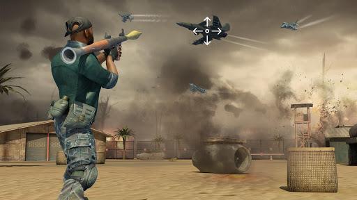 بازی اندروید شلیک با اسلحه های ضد هوایی - Jet Sky War Fighter 2019: Airplane Shooting Combat