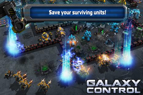 بازی اندروید کنترل کهکشان - Galaxy Control: 3d strategy