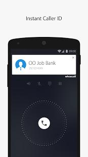 نرم افزار اندروید کی تماس گرفته - Whoscall - Caller ID & Block