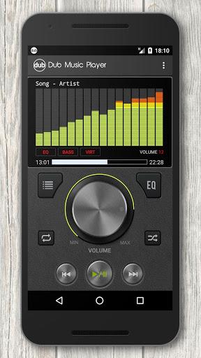 نرم افزار اندروید داب - موزیک پلیر و اکولایزر - Dub Music Player + Equalizer