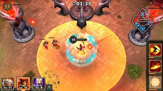 بازی اندروید قهرمانان افسانه ای - Legendary Heroes MOBA