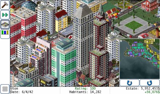 بازی اندروید ایجاد شهر - TheoTown