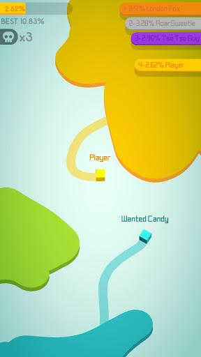 بازی اندروید کاغذ 2 - Paper.io 2
