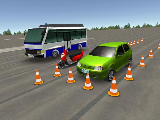بازی اندروید مدرسه رانندگی نپال - رانندگی اتومبیل، اتوبوس و موتورسیکلت - Driving School Nepal - Drive Car, Bus & Motorcycle