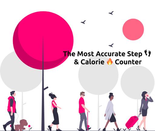 نرم افزار اندروید شمارنده گام - گام شمار فعالیت - Step Counter - Pedometer & Activity Tracker