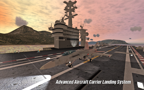 بازی اندروید فرود هواپیما - Carrier Landings