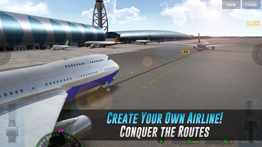 بازی اندروید تجربه واقعی پرواز - Airline Commander - A real flight experience