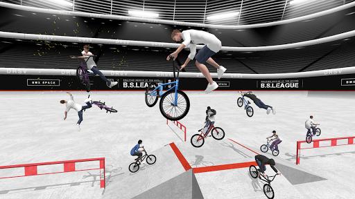 بازی اندروید دوچرخه سواری با انگشت - BMX Space