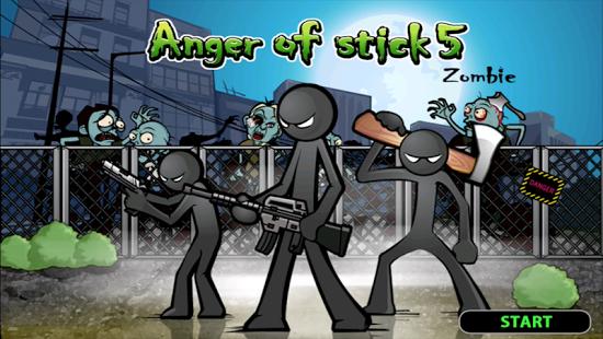 بازی اندروید خشم استیک 5 - Anger of Stick 5