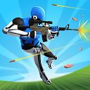 بازی نبرد یک به یک - شبیه ساز ساختمان و تیراندازی آنلاین