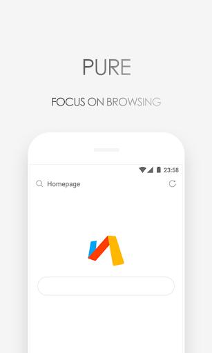 نرم افزار اندروید مرورگر ویا - سریع و سبک - Via Browser – Fast & Light