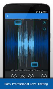 نرم افزار اندروید برش دهنده ام پی تری - MP3 Cutter