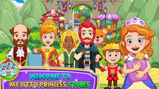 بازی اندروید فروشگاه های کوچک شاهزاده خانم من - My Little Princess : Stores FREE