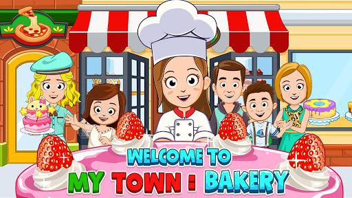 بازی اندروید شهر من - شیرین پزی رایگان - My Town : Bakery Free