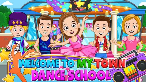 بازی اندروید همه چیز در شهر من - مدرسه رقص  - My Town : Dance School FREE