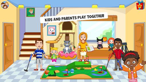 بازی اندروید شهر من - بهترین بازی های خانه دوستان برای بچه ها - My Town : Best Friends' House games for kids