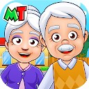 شهر من - پدربزرگ و مادربزرگ بازی سرگرم کننده زندگی در خانه را انجام می دهند