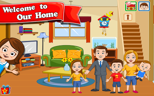 بازی اندروید شهر من - خانه عروسکی - My Town : Home Dollhouse