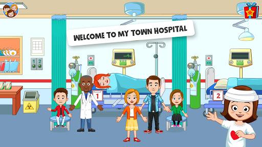 بازی اندروید بیمارستان شهر من - بازی پزشک بچه ها - My Town : Hospital. Kids Doctor game