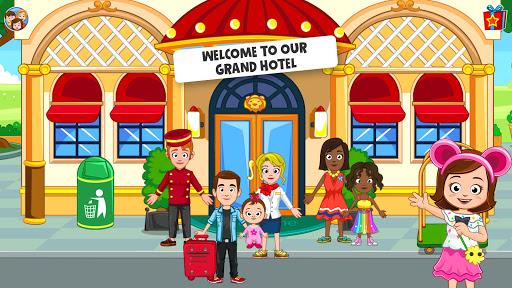 بازی اندروید هتل رایگان شهر من - My Town : Hotel Free