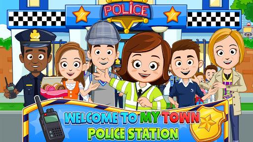 بازی اندروید شهر من - ایستگاه پلیس - My Town : Police Station