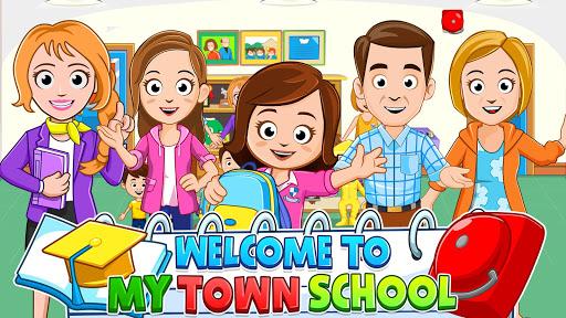 بازی اندروید شهر من - مدرسه رایگان - My Town : School Free