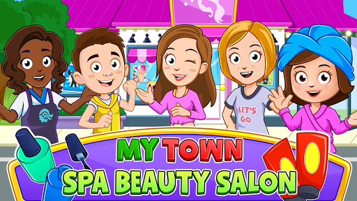 بازی اندروید شهر من - سالن اسپا زیبایی - My Town : Beauty Spa Salon Free