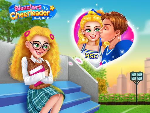 بازی اندروید زندگی دختران دبیرستان 2 - Nerdy Girl 2! High School Life