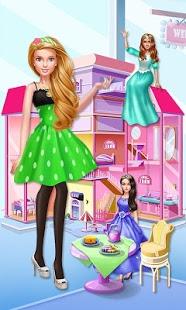 بازی اندروید زندگی خانه رویایی - Fashion Doll: Dream House Life