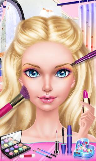 بازی اندروید عروسک مد - خرید لباس مد روز - Fashion Doll: Shopping Day SPA ❤ Dress-Up Games