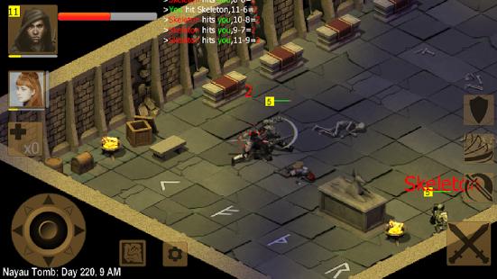 بازی اندروید امپراتوری تبعید شده - Exiled Kingdoms RPG
