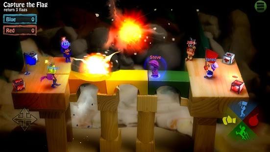 بازی اندروید دسته بمب - BombSquad